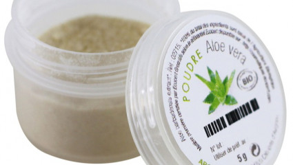 La poudre d'Aloe vera, un concentré de beauté