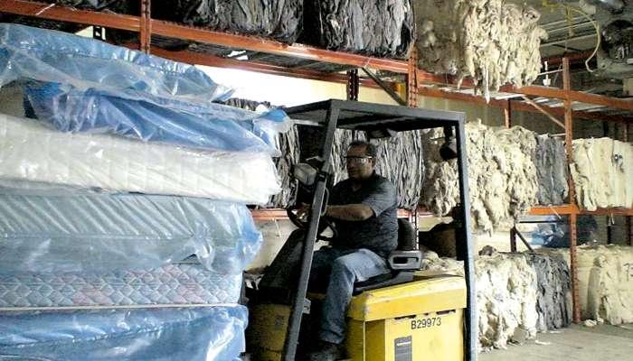 Vieux matelas : place au recyclage !