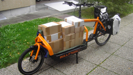Profession : cyclo-coursier !