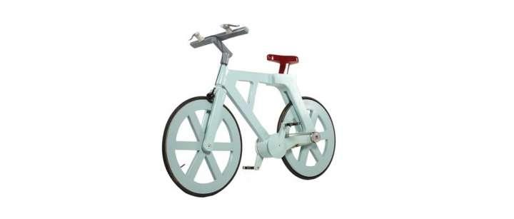 Un vélo sorti des cartons