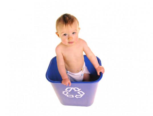 Couches lavables, couches jetables: quel choix pour l'environnement?