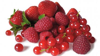 Les fruits qui fouettent le sang
