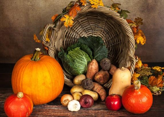 Des fruits et légumes pour l'automne
