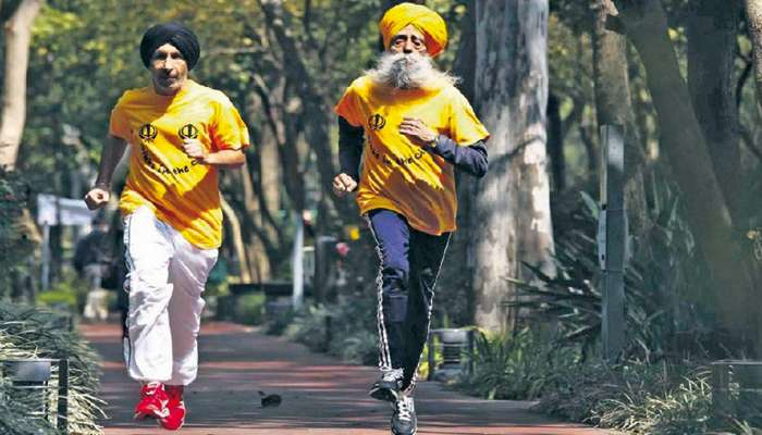 Le marathon contribue  au bien vieillir