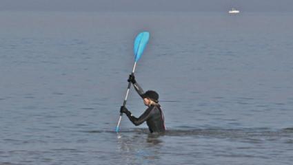 Le longe-côte, ce nouveau sport en vogue et en vagues