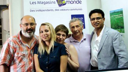 La famille Biomonde  fête ses 20 ans