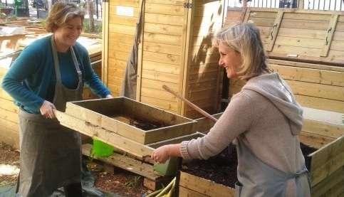 Un an déjà pour le premier compost de quartier parisien