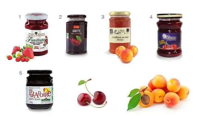 Des confitures aux sucres alternatifs