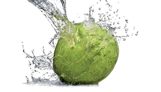 L'eau de coco, équilibrante et reminéralisante