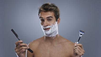 Au masculin : un rasage au poil