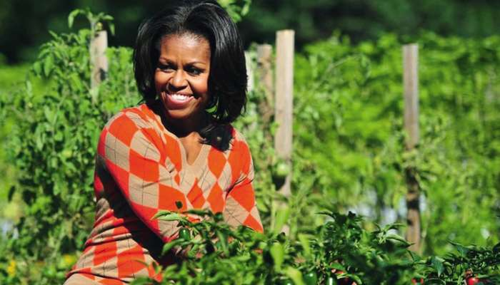 Monsanto proteste contre  le jardin de Michelle