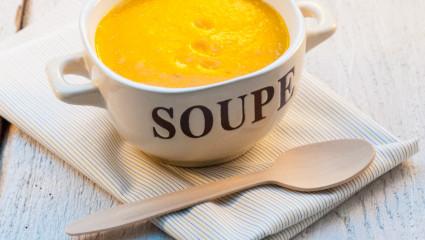 Une soupe complète, vite et bien faite